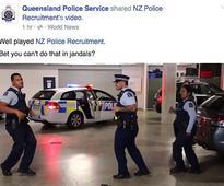 Valerie Adams responds to NZ Police's 'running man' challenge