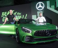 Mercedes-Benz brings its top sport models: AMG GT R and AMG GT Roadster come to India