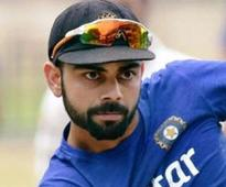 Dont know what I would do on the field without intensity: Virat
