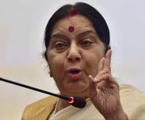 Pak woman to be given visa for liver transplant: Swaraj