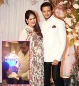 Riteish Deshmukh feeding his pregnant wife Genelia DSouza at Karan-Bipasha's wedding will make you go AWWW  watch video!