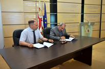 An Agreement Was Signed For Thr Development Of The Vocational Education