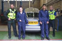 Longbridge police and Bournville College team up to prevent theft of vehicle reg plates