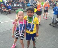 Running for Nepal in Denmark