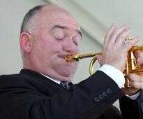 Trumpeter James Morrison gets jazz honour