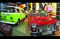 Bollywood's iconic cars displayed at the Auto Expo