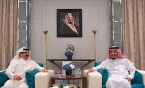 Custodian of the Two Holy Mosques receives Bahrain's King
