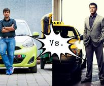 The Ola-Uber rivalry in India  when competition became ridiculous