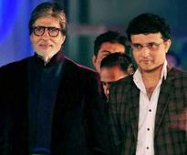 Saurav Ganguly  says Amitabh Bachchan didn't charge a penny to sing National Anthem  of praise