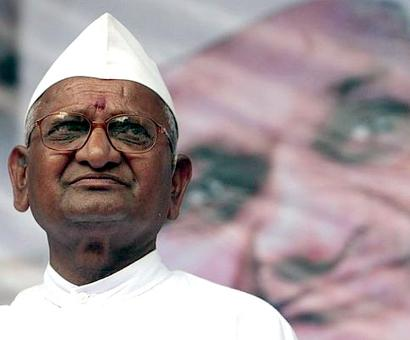 On Gandhi Jayanti, Anna Hazare to sit on dharna in Delhi
