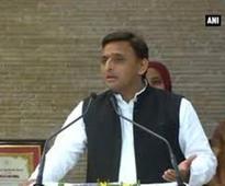 UP CM Akhilesh dedicates 'Gandhi Samadhi' to Rampur residents
