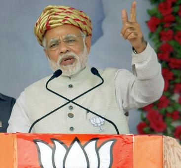 Practice democracy in your own home: Modi tells Congress