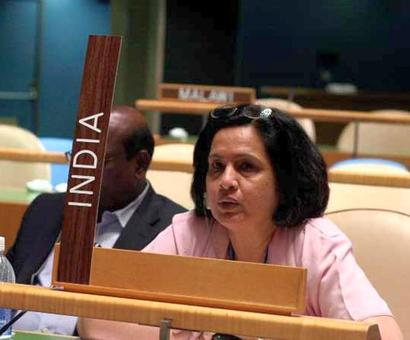 Neeru Chadha becomes 1st Indian woman as member of UN law board