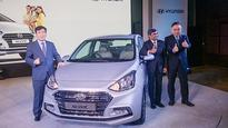 Hyundai's new sedan Xcent launched, priced up to Rs 8.41 lakh