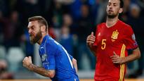 De Rossi saves outclassed Italy against Spain