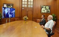 Modi, Afghan President inaugurate Stor Palace in Kabul via video link