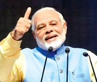 PM Narendra Modi bats for digital currency, says Aadhar-based payments in two weeks