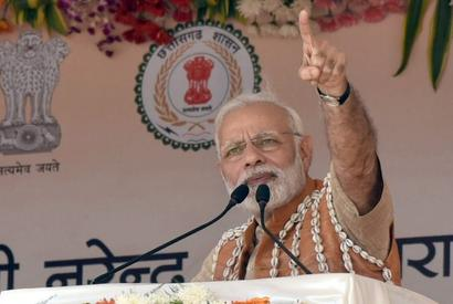 Ambedkar protected your rights, don't go to Naxals: PM in Chhattisgarh