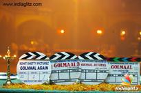 'Golmaal Again' hits the floors