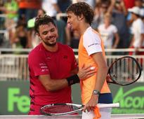 Top-seeded Wawrinka toppled at Miami