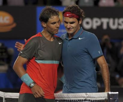 Stat attack: Roger Federer v Rafa Nadal head-to-head results