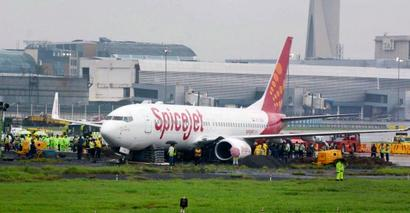 Stranded plane moved but Mumbai airport remains crippled
