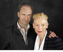 Tilda Swinton and Ralph Fiennes...