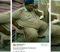 Remember The MP Cop Whom Shobhaa De Fat-Shamed? He Has Completely Transformed Within A Month