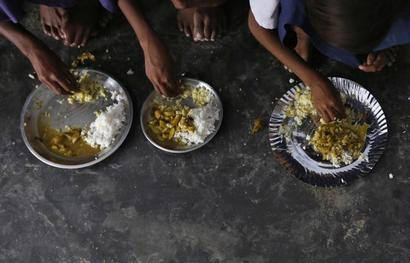 Dead rat in Delhi school's mid-day meal leaves 9 students ill