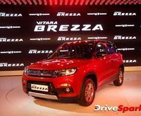 Maruti Suzuki Vitara Brezza Achieves 1.72 Lakh Bookings Since Launch