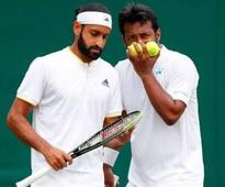 Paes and Shamasdin lose marathon first round