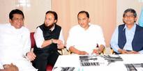 Chancellor of MANUU Mr. Zafar Sareshwala and Vice Chancellor Dr. Aslam Parvaiz