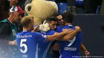 Schalke win again, Leipzig go second