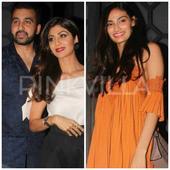 In Pics: Shilpa and Athiya look stunning at a birthday bash!