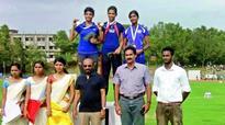 100 metres hurdles: Gold for Jyothi, Nithya is third
