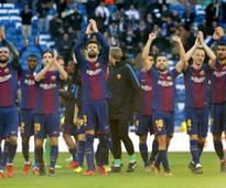 La Liga: Barcelona humiliate Real Madrid to open up nine-point lead at top; Villareal edge past Valencia