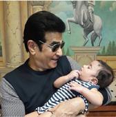Tusshar Kapoor shares ADORABLE pic of son Laksshay with father Jeetendra