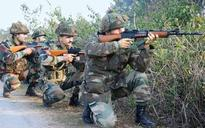 Anti-fidayeen drills for soldiers before deployment in counter insurgency operations