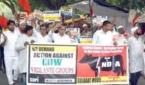 Massive protest demonstration against thrashing of Dalits in Gujarat