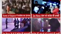 Congress workers attack Zee journalists