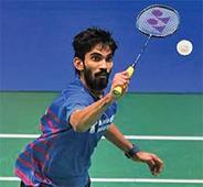 Srikanth sails into Denmark Open final