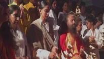 Deepika Padukone attends Ganga aarti in Rishikesh