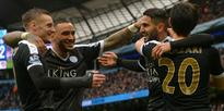 Football: Giantkilling Leicester go five points clear at top of EPL table