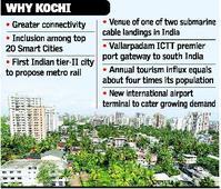 Kochi emerging as the next highly preferred destination