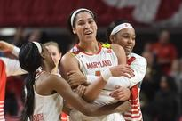 Brionna Jones scores 42 as Maryland holds off Penn State, 89-83