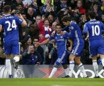 Premier League: Chelsea record 12th consecutive win; Olivier Giroud rescues Arsenal