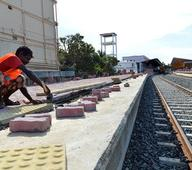 India wants to construct new rail line in Sri Lanka