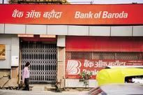 Bank of Baroda down 9% post weak Q4