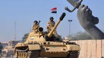 Iraq holds victory parade after defeating Islamic State