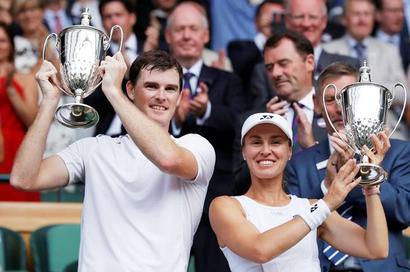 PHOTOS: Hingis-Murray are Wimbledon mixed doubles champions!